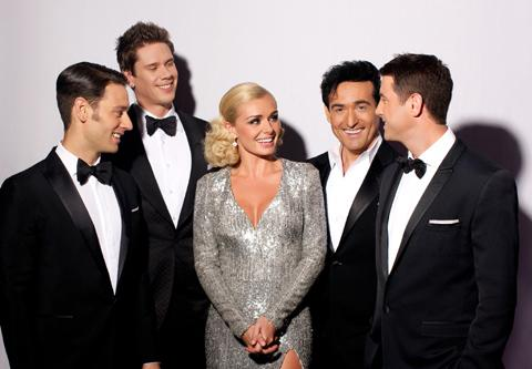 Katherine Jenkins and Il Divo will visit Cardiff in April 2013