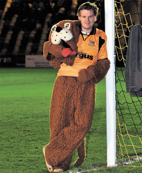 WORK EXPERIENCE: Argus man tries life as Newport County mascot