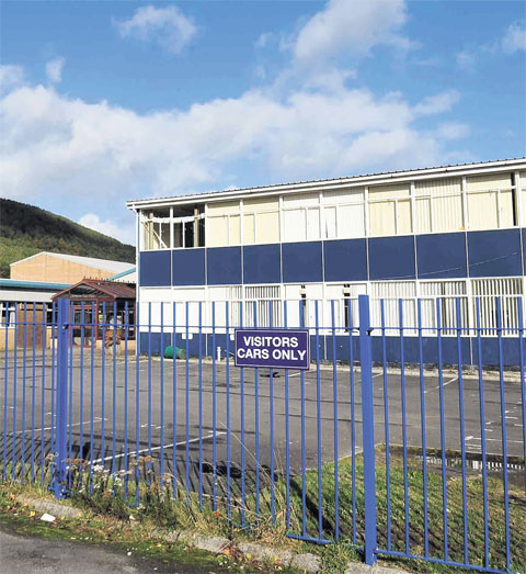 REVIEW OF 2012: Cwmcarn school closes in asbestos scare - September and October