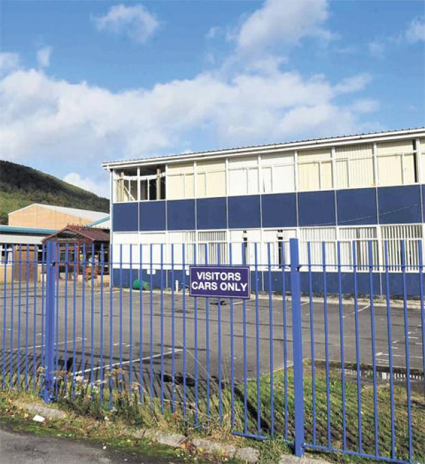 Asbestos levels at Cwmcarn school could be 'much lower' than first thought