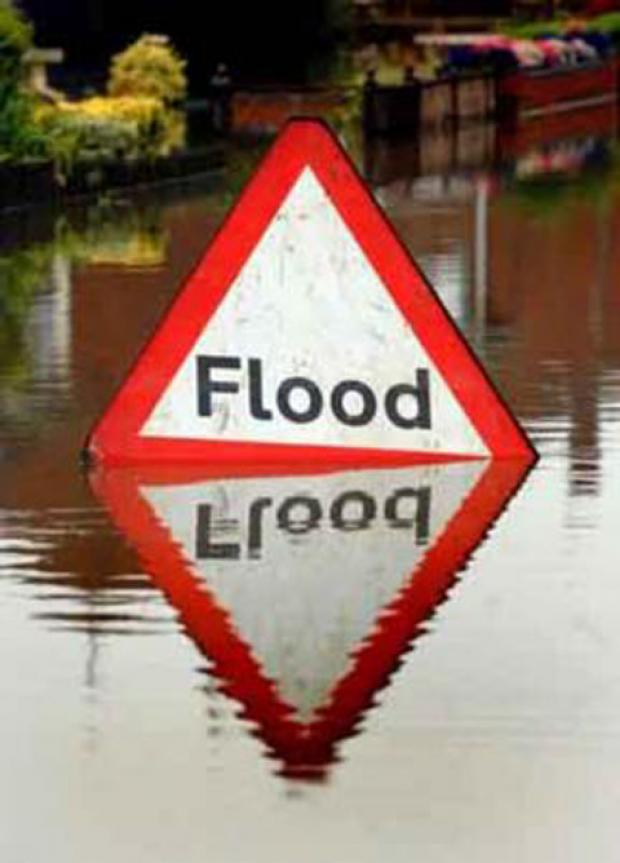 Roads in Wentloog and Machen closed due to flooding