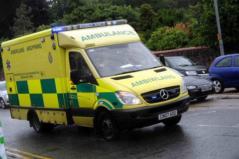 Welsh government under fire over ambulance times