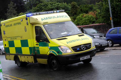Warning of confusion if word  'ambulance' is not in name of ambulance service