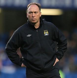 David Platt will not be on the touchline for Manchester City's next two European games