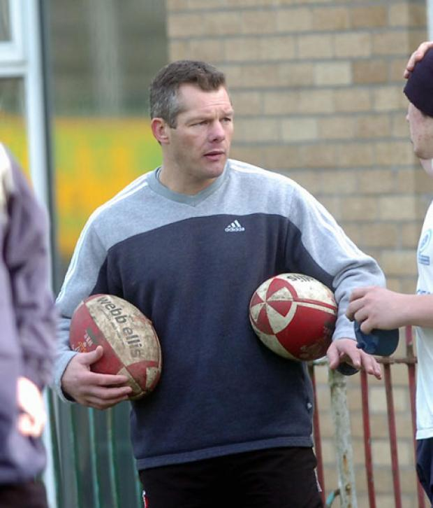ON BOARD: Byron Hayward has joined the Cross Keys coaching staff