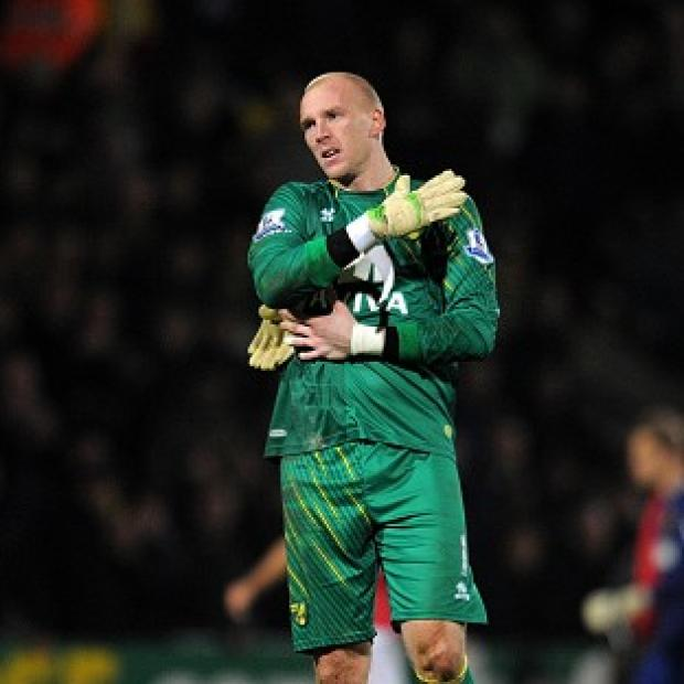 South Wales Argus: John Ruddy is set for three months on the sidelines with a thigh injury