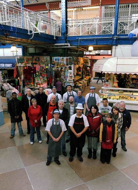 SUPPORTING CAMPAIGN: Traders from Newport Market