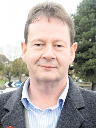 STANDING DOWN: Cllr Matthew Evans head of the Conservative group on Newport council