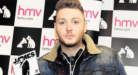IMPOSSIBLE: X-Factor winner James Arthur promotes his single