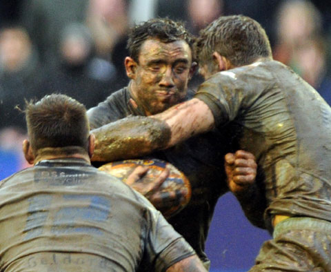 Brown up for tussle with Ospreys' powerful pack