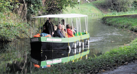 NEW ATTRACTION: The Islwyn Lilly on the Crumlin arm of the Monmouthshire and Brecon Canal