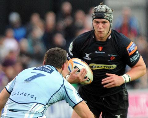 ON THE WAY BACK: Injured back row superstar Dan Lydiate