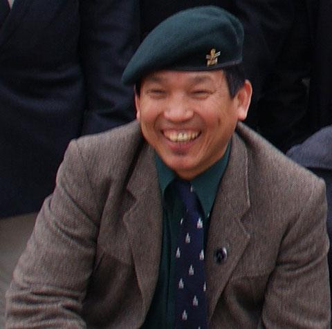 NEW HEAD: Narendra Limbu is the new president of the Gurkhas in Wales