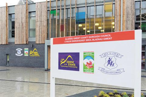IMPRESSIVE: The Ebbw Fawr Learning Community School