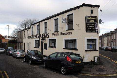 HOMES PLAN: Former Newport pub, The Engineers Arms