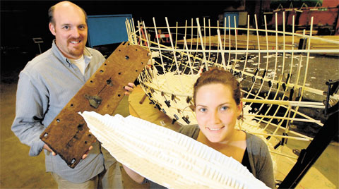LUCKY RECIPIENTS: Friends of the Newport Ship has received backing