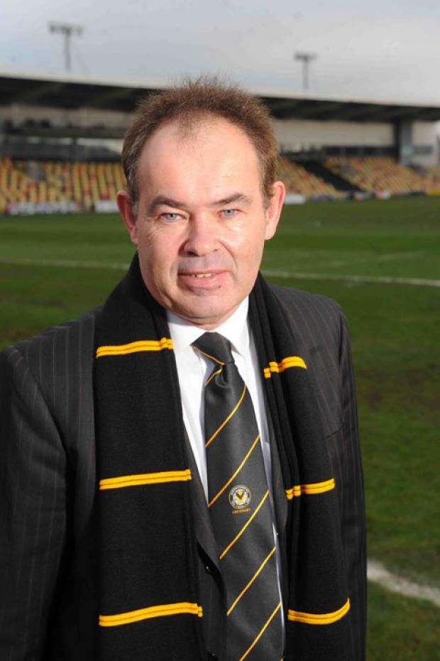 GIVE HIM A CHANCE: County chief executive Dave Boddy who is being harshly judged by some before he has even started in the role