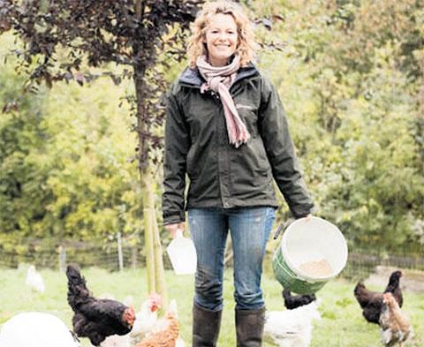 PLANS: A scheme by Kate Humble was backed by the county council TV