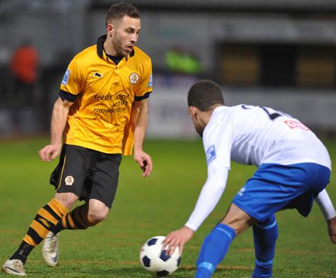 BOUND FOR PARADE: Winger Robbie Willmott, seen here in action for Cambridge United