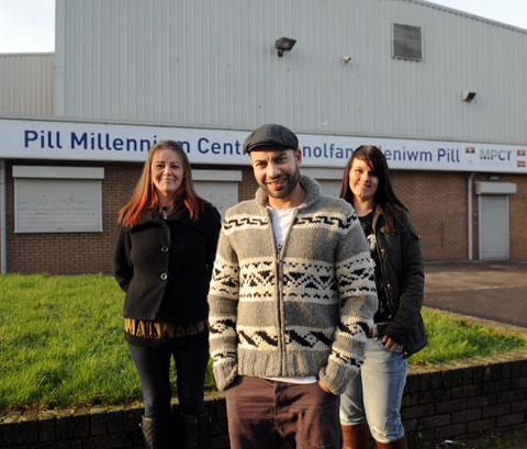 NEW TEAM: From left; Tracey Holyoake, Ali Boksh and Danielle Arthur