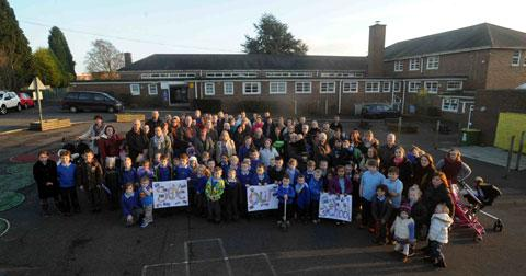 Anger as parents meet over Gaer schools merger