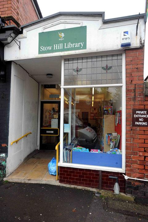 AXED: Stow Hill library, Newport