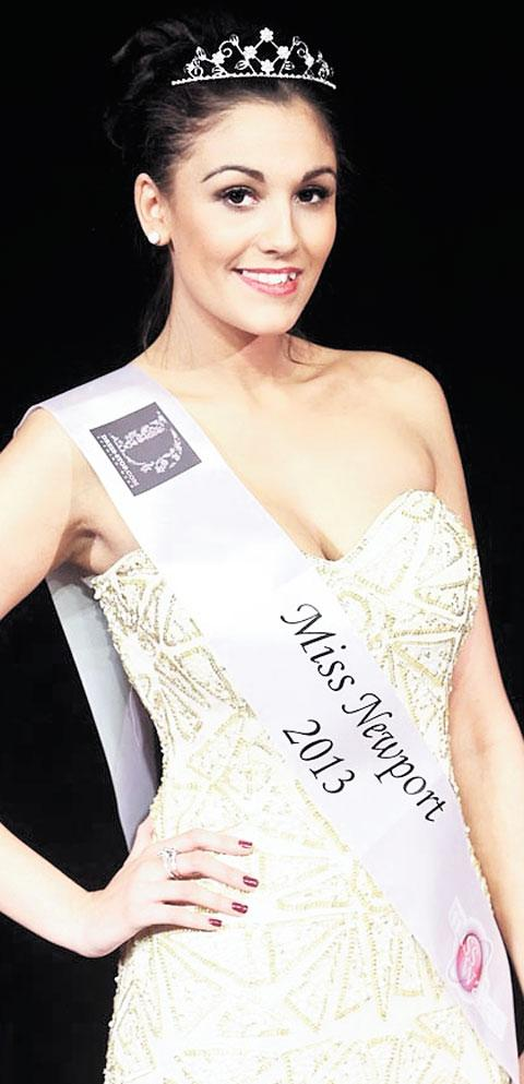 NEWPORT WINNER: Sarah Abdullah, 22, a legal advisor, is the newly crowned Miss Newport 2013