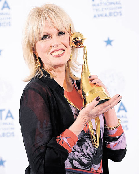 SPECIAL RECOGNITION: Joanna Lumley