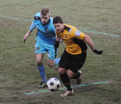 chance to shine? Danny Crow is hoping to replace injured top scorer Aaron O'Connor tomorrow evening