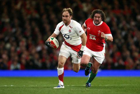 EXPERIENCED: Andy Goode in action against Wales in 2009