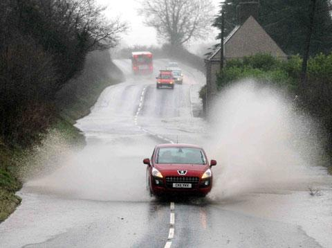 Warning of heavy rain and flood risk for Gwent