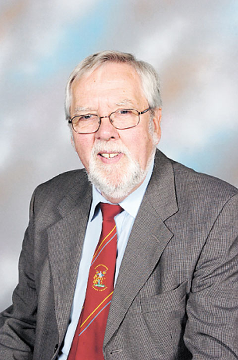 CONCERNED: Monmouthshire councillor Roger Harris