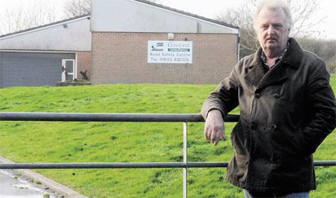 OBJECTIONS: Frank Weston is one of the residents organising a meeting to discuss concerns about proposed Gipsy sites in Ringland