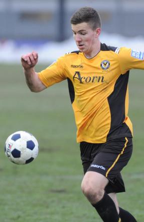 SUPPORT: Former Newport County midfielder Lee Evans