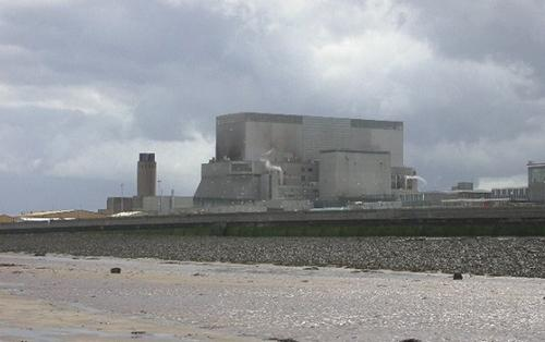 NEW PLANT: The existing power plant at Hinkley Point