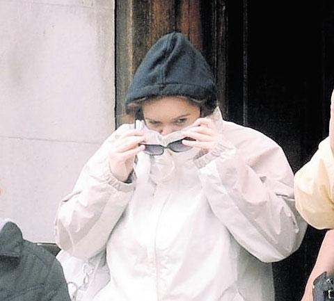 BANNED FROM TEACHING: Former Cwmcarn teacher Kelly Baker at Cardiff Crown Court