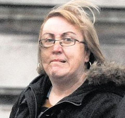 PLEADED GUILTY: Former health care worker Ann Barnes admitted theft of more than £13,000 after an administrative error led her to receiving nearly double her wages for two years