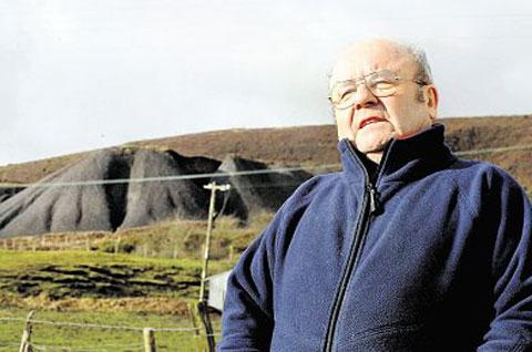 SUPPORT: John Morgan near his home in Pembroke Terrace, Varteg