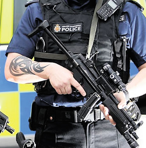 'Police officers should cover up tattoos' - Gwent Police commissioner