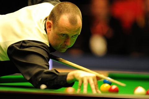 GREAT GWENT HOPE: Mark Williams is in action tomorrow