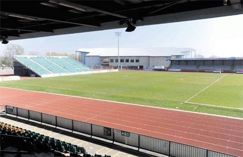 South Wales Argus: POSSIBLE SAVING': Newport Stadium could be closed by the city council in its bid to balance its budgets
