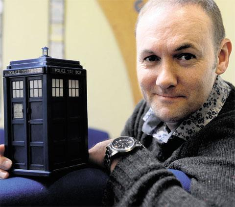 SCI-FI SIRE: Sean Carlsen who has starred in Doctor Who