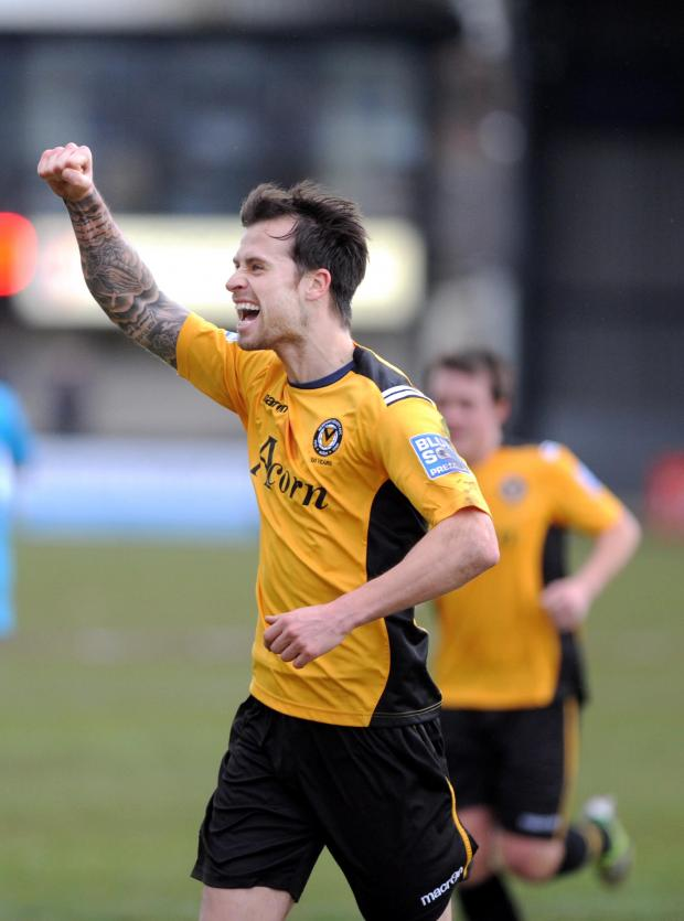 PRAISE: Exiles boss Justin Edinburgh has lauded the recent form of defender Byron Anthony