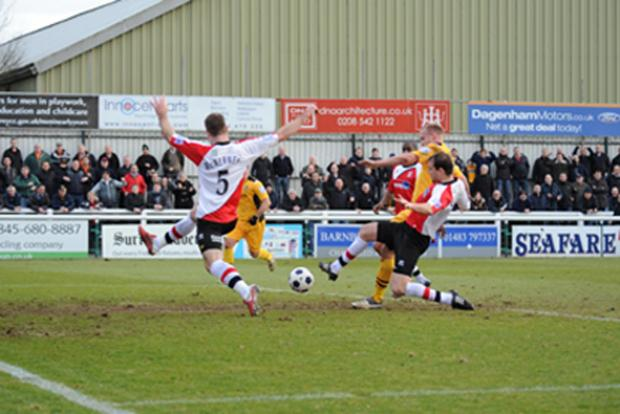 `County cruise at Woking - match report