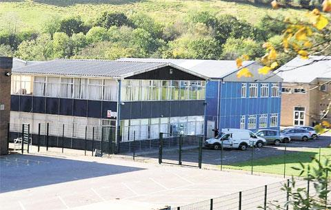 NEW TWIST: Cwmcarn High School