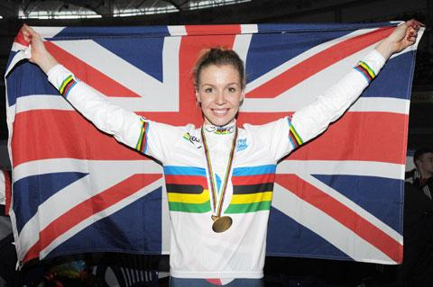 South Wales Argus: Double world champion cyclist Becky James