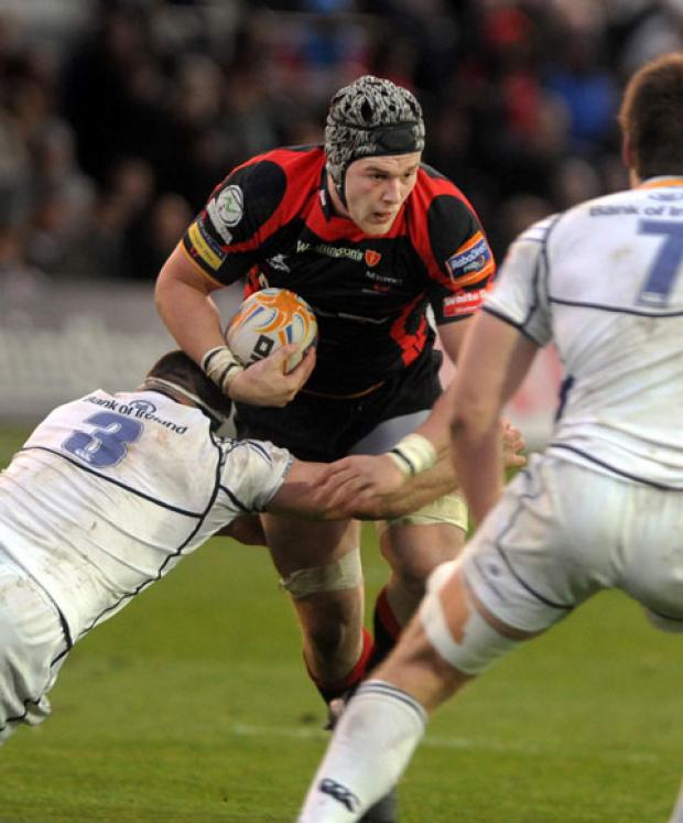 COMEBACK TRAIL: Dragons and Wales ace Dan Lydiate