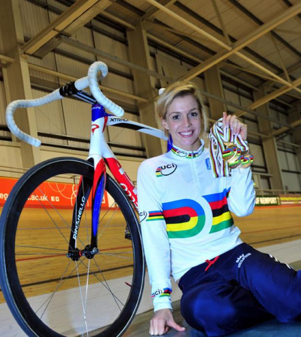 South Wales Argus: Golden girl Becky James returns