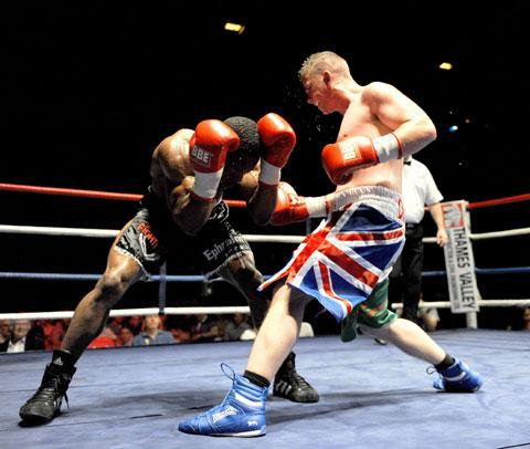 BIG CHANCE: Newport boxing star Gary Buckland