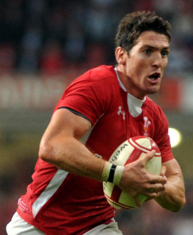 PLAYMAKER: James Hook is being backed by former Wales great Mark Ring